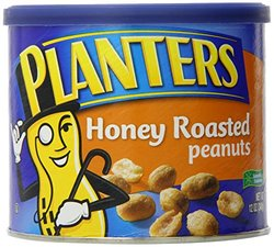 Planters Honey Roasted Peanuts - 12 oz (Invictus_EAN_AACJAAAAHCIAA)