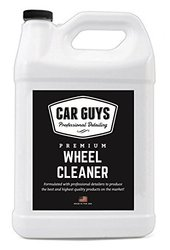 Wheel and Tire Cleaner - Safe for all Wheels and Rims - Works on Alloy Chrome Aluminum Clear-Coated Painted Polished and Plasti-Dipped Rim - 1 Gallon Refill - Wheel Cleaner by CarGuys