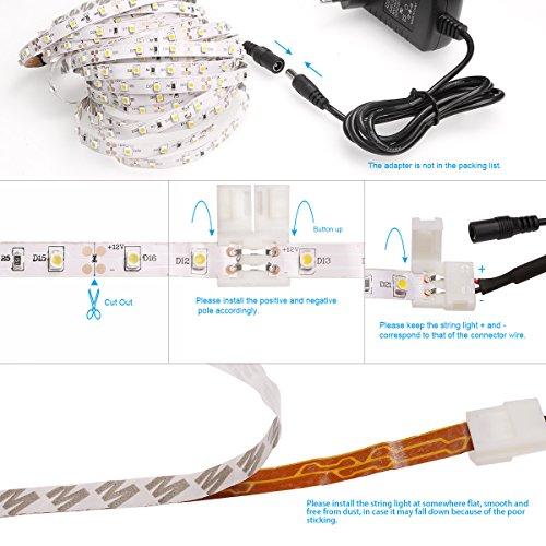 Le 12v dc flexible led strip lights 164ft5m led light strips le 12v dc flexible led strip lights 164ft5m led light strips aloadofball Choice Image
