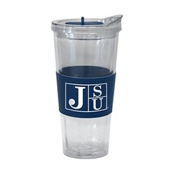 NCAA Jackson State Tigers Slider Tumbler, 22-ounce