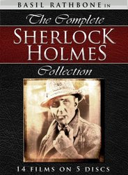 MPI Home Video dVD The Complete Sherlock Holmes Collection