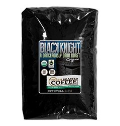 5 Lb. Bag, Black Knight Dark Roast OFT, Whole bean coffee, Fresh Roasted Coffee LLC.