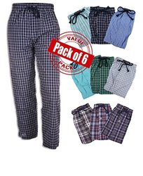 Andrew Scott Boy's 6 Pack Woven Pant - Assorted - Size: Large