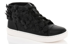 Lady Godiva Women's Fashion Sneakers - Black - Size: 7