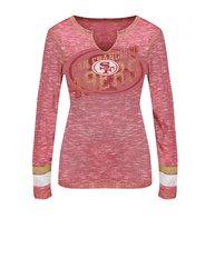NFL Women's San Francisco 49ers Long Sleeve Tee - Harvest Gold - Size: M