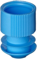 Kartell Blue Polyethylene Test Tube Cap for 15-17mm Test Tubes