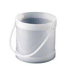 """Dynalon Polypropylene Round Dipping Basket - 8"""" Length x 10"""" Width"""