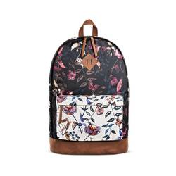 Mossimo Women's Backpack Handbag with Floral Pattern - Black - Size: One