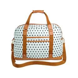 Mossimo Women's Heart Print Backpack Handbag - Mint
