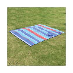 Evergreen Lux Beach Mat Multi Stripe - Multi - Size: One Size