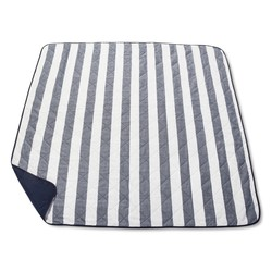 "Threshold Stripe Picnic Blanket - Blue - Size: 70"" x 70"""