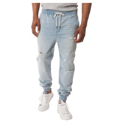 Jackson Men's Denim Jogger Pants - Blue - Medium