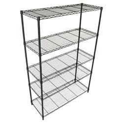 Room Essentials Adjustable Gallery 5-Shelf Bookcase