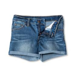 Cherokee Girls Jeans Short - Dark Medium Blue - Size: M(7/8)