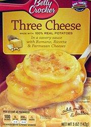 Betty Crocker Three Cheese Potatoes Sides - 5.5 Oz