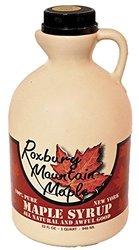 Roxbury Mountain Maple Grade A Amber Maple Syrup - 32Ounce