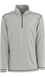 White Sierra Men's Techno Long-Sleeve 1/4 Zip T-Shirt - Apricot - Size: L