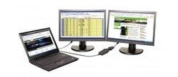 Lenovo USB 3.0 to DVI/VGA Monitor Adapter (0B47072)