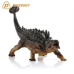 Packgout 8pcs Kids Dinosaur Figure Playset Toys for Boys/Girls - Assorted