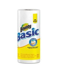 Bounty Basic Paper Towel- 56 Sheets Per Roll - 30-Count - White