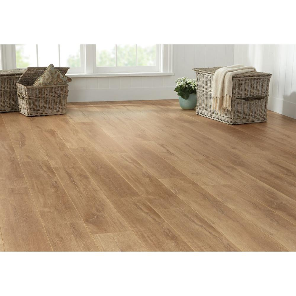 decor wood collection x brown mm decorators ft home hickory wide length p in thick laminate sq medora flooring case eir