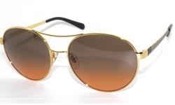Tory Burch New Unisex Sunglasses - Gold/Metel