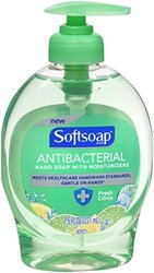 Softsoap Antibacterial Hand Soap with Moisturizers Fresh Citrus .5 oz