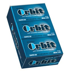 Wrigley's Orbit Gum Peppermint - Box Of 12 - 0.95 oz