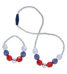 Cherokee 2-Pack Toddler Girl's Beaded Necklace/Bracelet Set - Multi