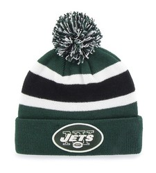 NFL Women's NY Jets Beanie Knit Hat - Grey