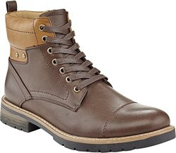 Marco Vitale Men's 42028 Color Cuff Laceup Work Boot - Brown - Size: 8.5