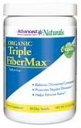 Advanced Naturals Organic Triple FiberMax Powder - 12 oz