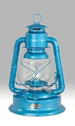 Dietz #1 Little Wizard Oil Lamp Burning Lantern - Blue