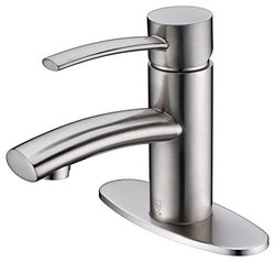 "Vito 3s Single Lever Lavatory Faucet With 4"" Deck Plate"