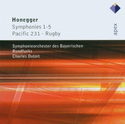 Honegger: Symphonies 1-5; Pacific 231; Rugby