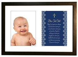 KidSakes Bless This Child Baby Keepsake Photo Frame - 5'' x 7'' photo