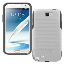 New OtterBox Commuter Series Case for Samsung Galaxy Note 2 - White/Gray