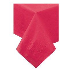 Hoffmaster Tablecover 3 Ply; Red