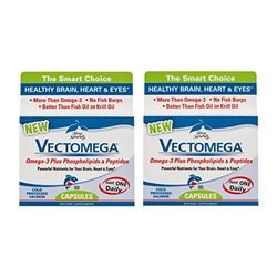 Terry Naturally/EuroPharma Vectomega 60 Capsules -2 Pack