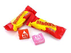 Wrigley Starburst Funsize Fruity Candy - Pack of 5 lb