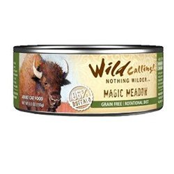 Wild Calling 5.5 oz. Magic Meadow Canned Cat Food - Buffalo - Pack of 24