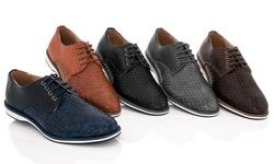 Adolfo 150811 Lace-up Dress Shoes: Grey/13