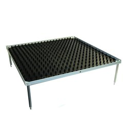 Benchmark Scientific Stacking Platform with Dimpled Mat