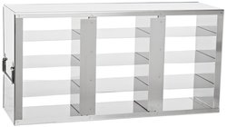 Argos Stainless Steel Upright Freezer Rack for Plastic Cryoboxes