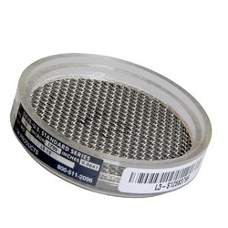 "Advantech Clear Acrylic Sonic Sifter Sieves with Wire Cloth - 3"" Diameter"