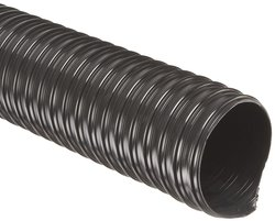 Flexaust Flx Thane HD Polyurethane Duct Hose - Black