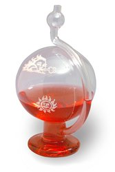 Sp Scienceware H B Instrument Glass Durac Weather Ball Barometer
