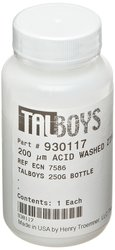 Talboys 200 Micron Acid Washed Grinding Media Zirconium Beads - 250g
