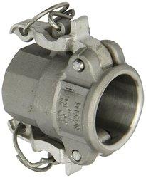 Dixon Valve Stainless Steel 316 Boss Lock Type D Cam & Groove Hose Fitting