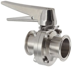 Dixon Valve Stainless Steel 316L Butterfly Valve with Trigger Handle